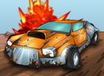 Играть в Drift Raiders