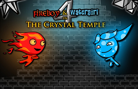 Fireboy & Watergirl in Crystal Temple