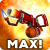 Flamethrower on Max