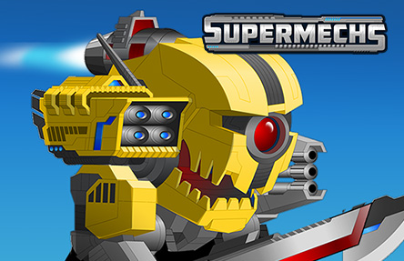 Super Mechs: Battle Bots Arena - A free Multiplayer Game